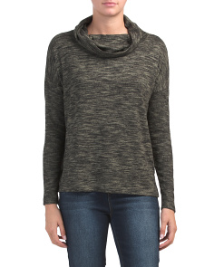 Cowl Neck Dolman Tunic