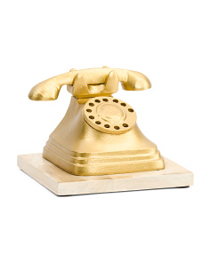 Made In India 6in Decorative Telephone