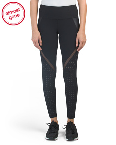 Cire & Mesh Leggings