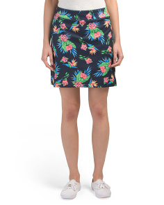 Tropical Floral Golf Skort