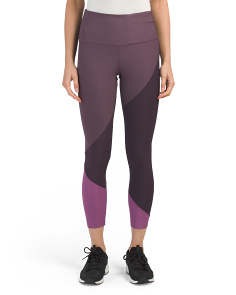 High Waist Color Block Leggings