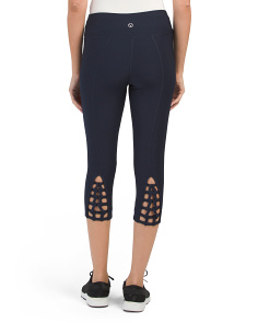 Lattice Back Leggings