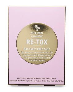 Retox Pre Party Pamper Kit