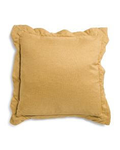 20x20 Contrast Flange Pillow