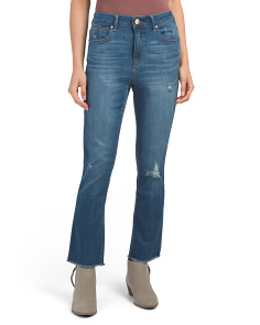 Straight Fray Jeans