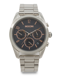 Women's Chrono Bullet Bracelet Watch