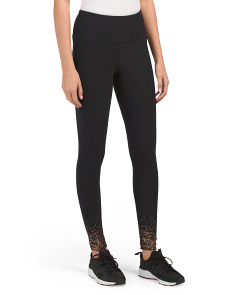 Placement Spray Print Leggings
