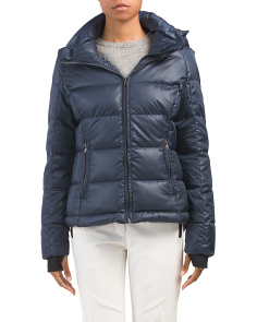 Down Ski Jacket With Hood