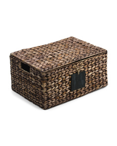 Large Havana Natural Storage Trunk
