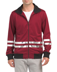 Racer Stripe Track Jacket