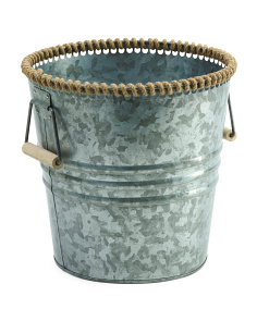 Made In India Galvanized Storage Bucket