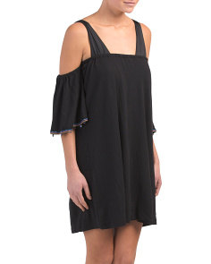 Pima Cotton Salsa Mini Coverup