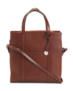 Leather Nikita Work Tote