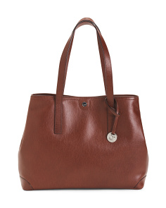 Leather Louisa Work Tote
