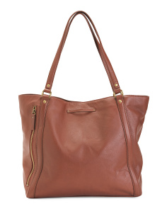 Leather Jenna Tote