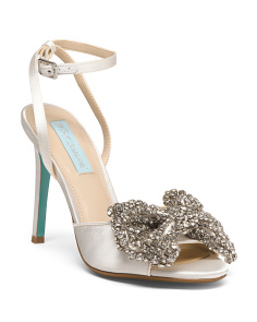 Jeweled Bow Sandals
