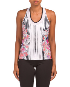 Outside The Lines Tank With Bra