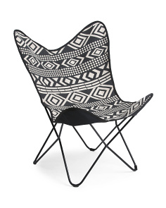 Made In India Tribal Print Chair