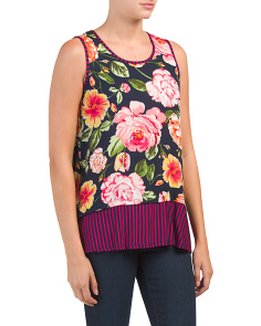 All Over Floral Tank