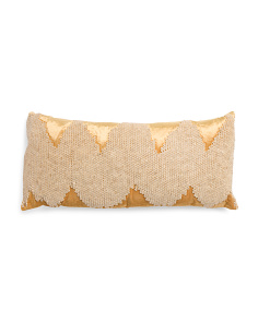 Made In India 14x31 Velvet Pillow