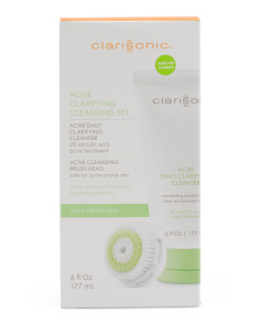 Acne Clarifying Cleansing Set