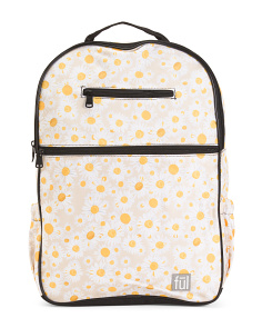 Style 3 Accra Daisy Print Backpack