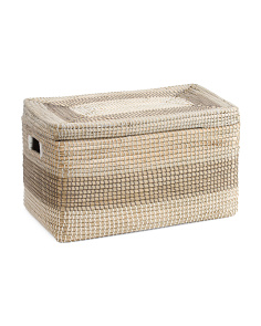 Medium Seagrass Striped Trunk