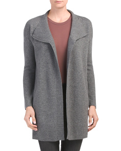 Double Faced Cashmere Cardigan