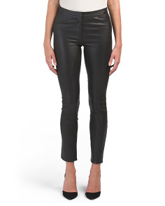 L Bristo Leather Riding Pants