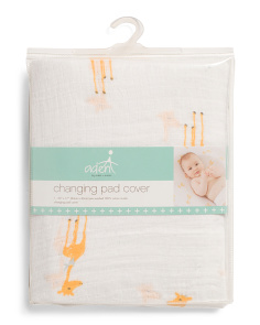 Giraffes Changing Pad Cover