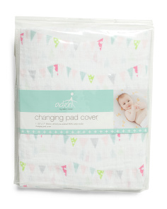Dancing Bunnies Changing Pad Cover