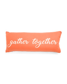 14x36 Gather Together Pillow