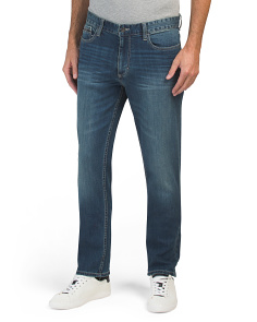 Authentic Slim Straight Jeans