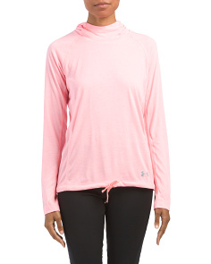 Twist Hooded Performance Top