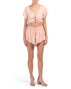 Juniors Australian Designed Cut Out Romper