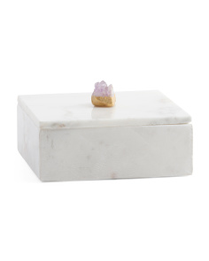 6in Marble Box