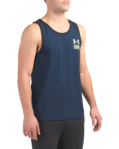 Stacked Left Chest Tank