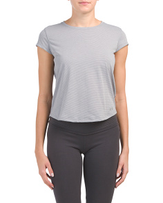 Run Mesh Short Sleeve Top