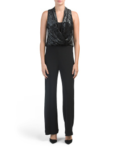 Made In Usa Palazzo Jumpsuit