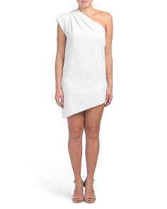 Melina One Shoulder Asymmetrical Dress