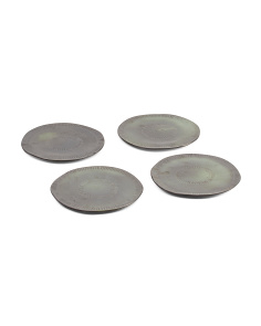 Made In Portugal Stoneware 4pk Plates