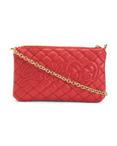 Made In Italy Quilted Leather Mini Bag