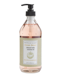 16oz Farmhouse Harvest White Pumpkin Hand Soap