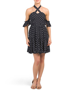Juniors Australian Designed Dot Dress