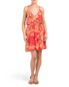 Juniors Australian Brand Floral Print Dress