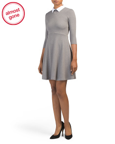 Collared Jersey Dress