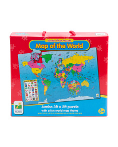 Map Of The World Jumbo Floor Puzzle
