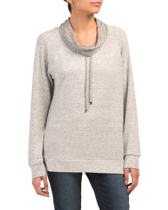 Pullover Funnel Neck Top
