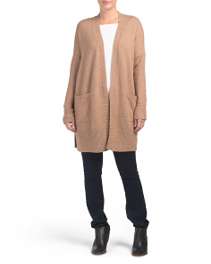 Juniors Two Pocket Cardigan