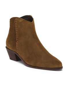 Made In Italy Antonia Suede Booties